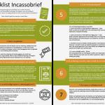 Checklist Incassobrief Blogartikel Tips en Tricks Incassorecht AID